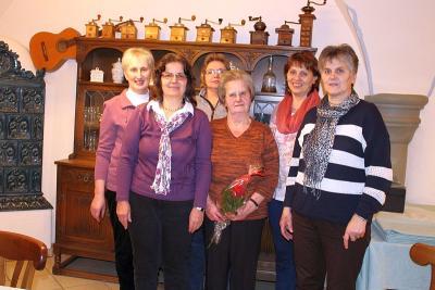 Foto zur Meldung: Der Frauenbund traf sich zur Jahreshauptversammlung – Kreuzweg zum Weltgebetstag