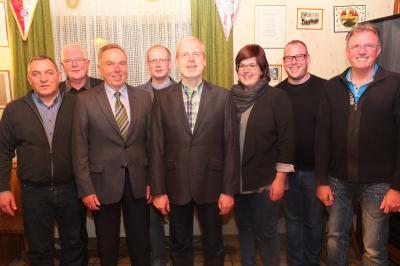 Der neue Vorstand des MGV