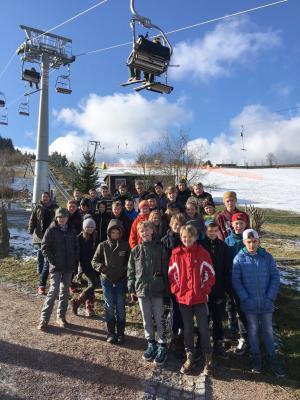 Foto zu Meldung: Winterferienlager im Erzgebirge