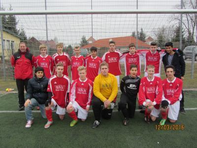 Vorschaubild zur Meldung: B –Junioren  12. Spieltag Landesklasse Ost