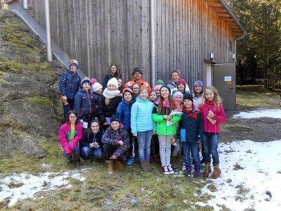 Foto zu Meldung: Thema Wasser bei der 4. Klasse Grundschule