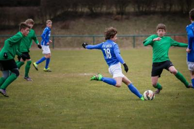 Foto zu Meldung: C Jugend liefert Hansa Rostock heißen Kampf