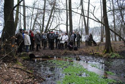 Foto zur Meldung: Österliche Wanderung zum Klingespring und zum Briesensee