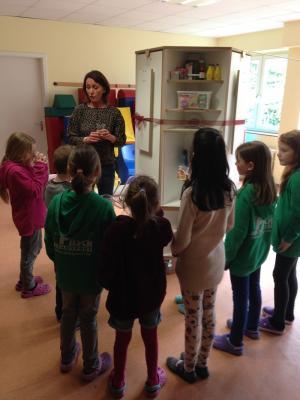 Foto zur Meldung: Ein Osterlabor rund ums Thema Ei an unserer OGS/Schule