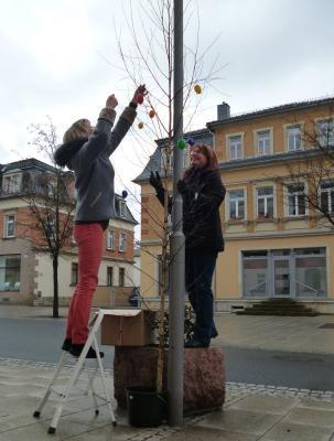 Foto zur Meldung: Auf zum Ostershopping - Der Interessenverein wünscht Frohe Ostern!