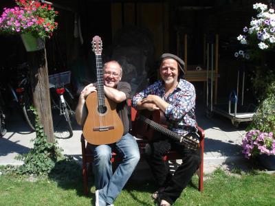 Tilmann Höhn (li.) und Ali Neander