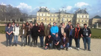 Foto zur Meldung: Studienfahrt Paris 2016