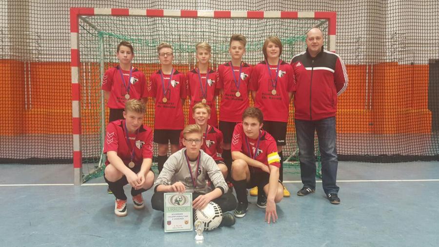 Bild der Meldung: C-Junioren / Erfolgreich in Rückrunde gestartet