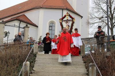 Foto zur Meldung: Palmsonntag in der Pfarrei St. Johannes