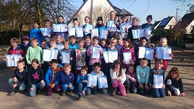 Foto zur Meldung: Schwimmturnier der Kaarster Grundschulen