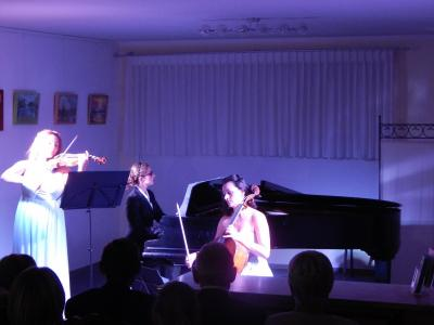 Foto zur Meldung: Turbulentes Konzert mit Les Troizettes