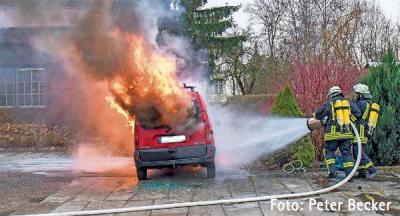 Vorschaubild zur Meldung: Einsatz Nr. 36/2016 - Fahrzeugbrand