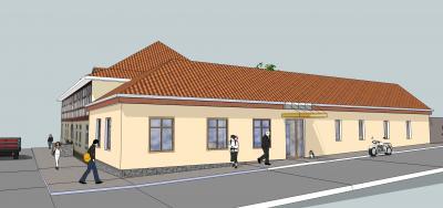 Geplantes Gemeindehaus