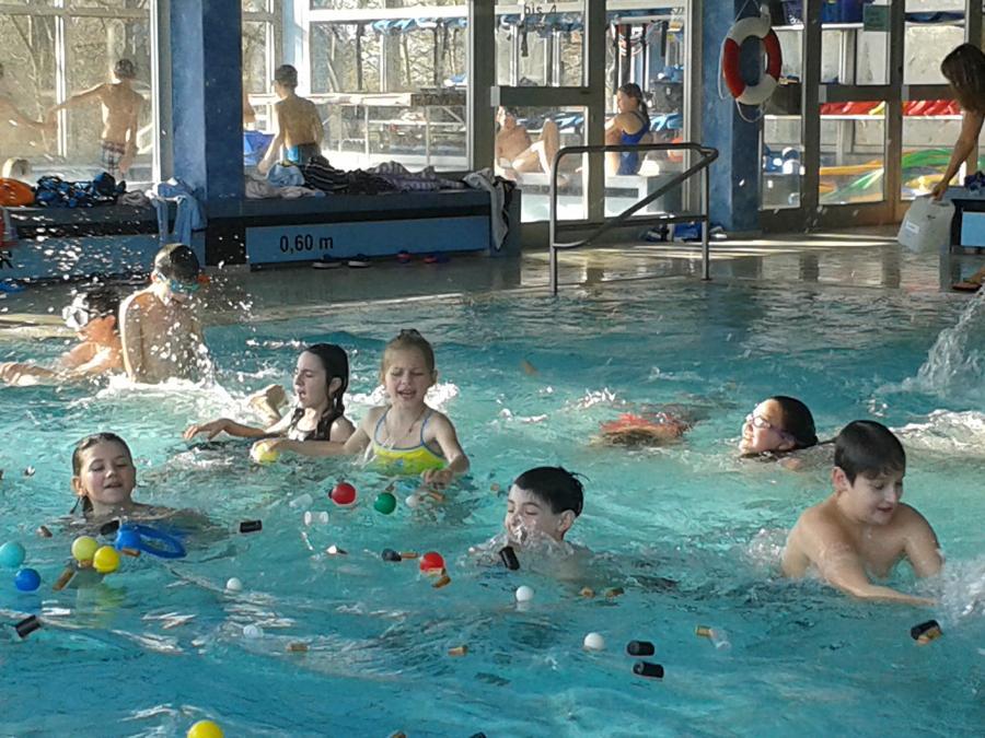 Schwimmaktionstag der 3. und 4. Klassen 2016
