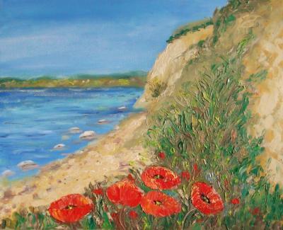 Foto zur Meldung: Aktuelle Ausstellung mit Landschaftsmalerei endet am 31.03.2016