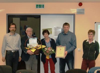 Foto zu Meldung: TuS Busdorf ernennt Ehrenvorsitzenden