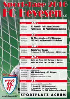 Foto zur Meldung: Sporttage 2016 FC Hevesen