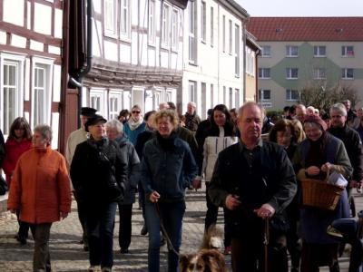 Foto zur Meldung: 5. Osterspaziergang in Wusterhausen/ Dosse