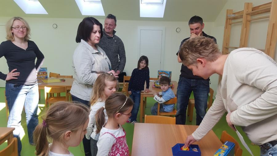 Spiele zum kennenlernen kindergarten