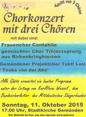 Konzert Stadtkirche Gemünden