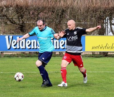 Foto zu Meldung: Landesliga: FSV Stadeln - FC Vorwärts Röslau 1:1 (0:1)