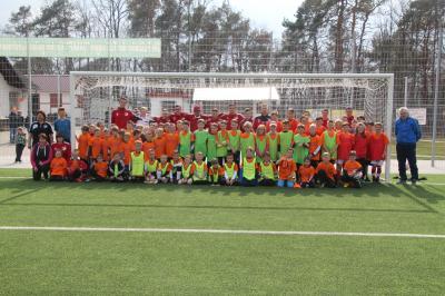 Foto zur Meldung: 6. Fussball-Trainingscamp für Kinder war ein voller Erfolg