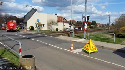 Foto zur Meldung: Technische Hilfeleistung - Ölspur
