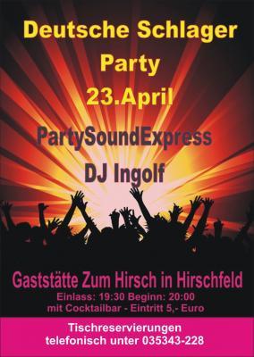 Foto zur Meldung: Deutsche Schlager Party