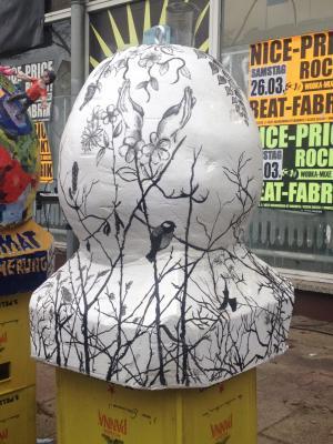 Foto zur Meldung: 3. Platz beim Kunstwettbewerb des Falkenseer Frühlingsfests.