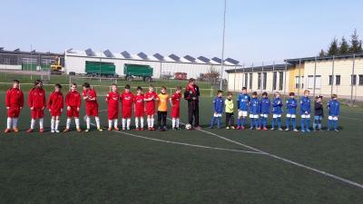 Vorschaubild zur Meldung: E1 Junioren Kreisliga  Platzierungsrunde West: