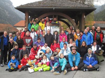 Foto zur Meldung: Skiabteilung - zum Saisonabschluss in Fiss-Ladis-Serfaus
