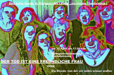 Aufführung der Frauen-Improvisationstheatergruppe von Hannelore Bähr