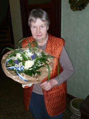Foto zur Meldung: TuS Elsdorf gratuliert Gisela Hemme  zum 80. Geburtstag!