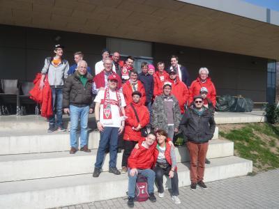 Foto zur Meldung: Integrativgruppe SV Großschönach-Lautenbach besucht Bundesligaspiel in Stuttgart