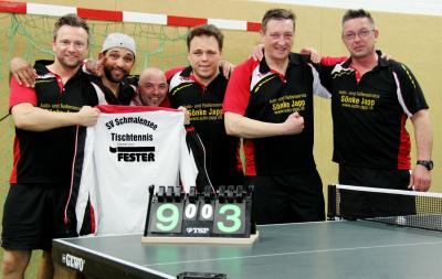 Foto zur Meldung: Tischtennis: Sportlicher Abstieg der SVS-Ersten
