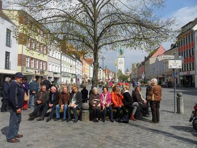Foto zur Meldung: Seniorenausflug ins Straubinger Land