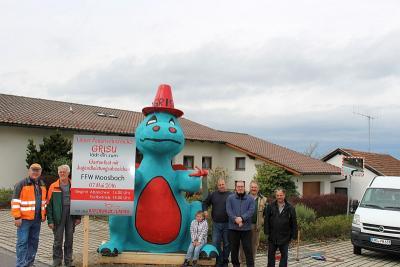 Foto zur Meldung: Attraktion in Moosbach kündet das Gartenfest an