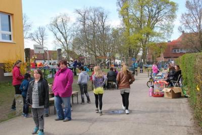 Foto zur Meldung: Das 5. Frühlingsfest an der Elbtalgrundschule Bad Wilsnack war ein voller Erfolg