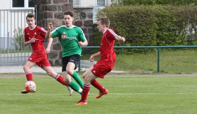 Foto zu Meldung: B Jugend besiegt Stralsunder FC