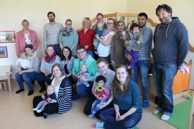 Foto zur Meldung: Hilfe für junge Familien