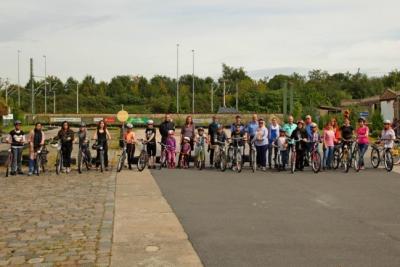 Foto zu Meldung: 5. Fahrradkurs für Migrantinnen im August 2016