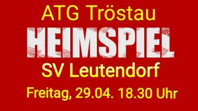 Foto zur Meldung: ATG vs. SV Leutendorf