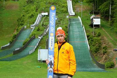 Foto zu Meldung: Bradi startet zur Vierschanzentournee
