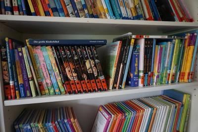 Foto zur Meldung: Neues aus der Schulbücherei