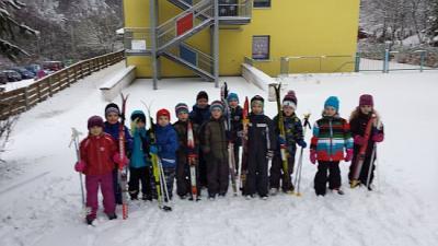 Foto zu Meldung: Skisaison bei den Krümmespatzen eröffnet