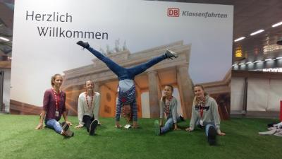 Foto zur Meldung: Unsere Turnerinnen beim Bundesfinale JtfO 2016 in Berlin