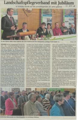 Vorschaubild zur Meldung: Mitgliederversammlung 20-Jahre LPV
