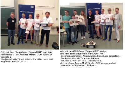 Die Teams aus Dachau