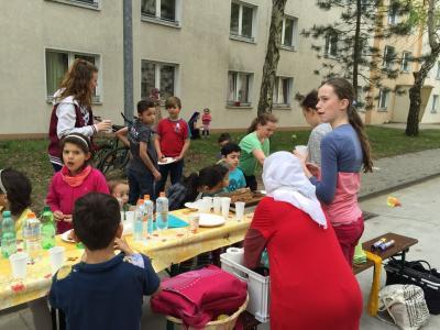 Foto zur Meldung: Flüchtlingsprojekt 6l