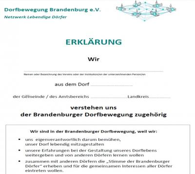 lebendige-doerfer.de - Dorfbewegung Brandenburg e.V. - Netzwerk ...